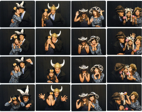 Photo booth mad cap hilarity.