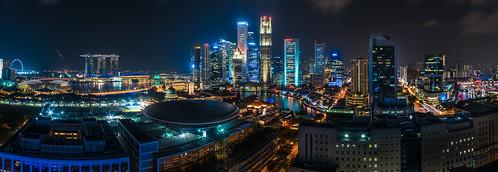 Singapore - Skyline Panorama