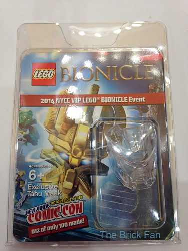 LEGO BIONICLE 2014 NYCC VIP LEGO BIONICLE Event - Exclusive Tahu Mask