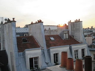 a room with a view in le Marais
