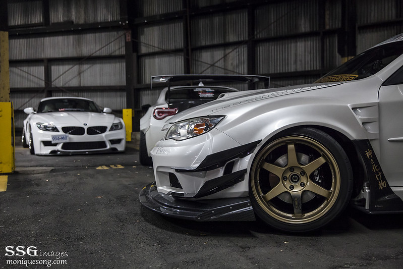 Duke Dynamics Widebody Z4 E89 & Varis widebody STI