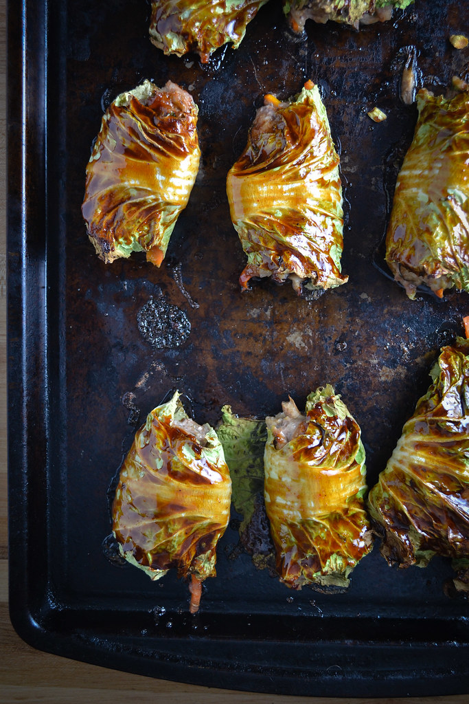 Asian-Style Stuffed Cabbage Rolls | Things I Made Today