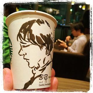 #japon #tokyo #asakusa #starbucks #pentel #portraits