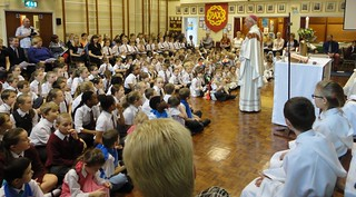 141015 - Mass of Thanksgiving for 35th Anniversay of St Benedict's Primary School Walderslade