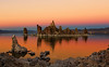 The Blue Hour turns orange at Mono Lake