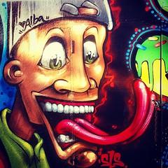 #graffitti #mural #pintura en #Samil #arte #urbano