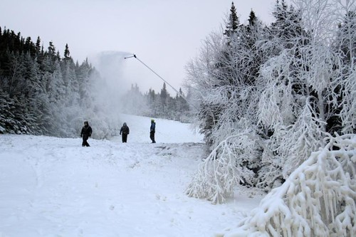 Wildcat snowmaking test Oct. 20