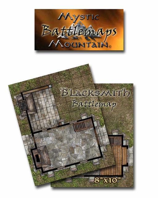 Battlemap - Blacksmith Ad
