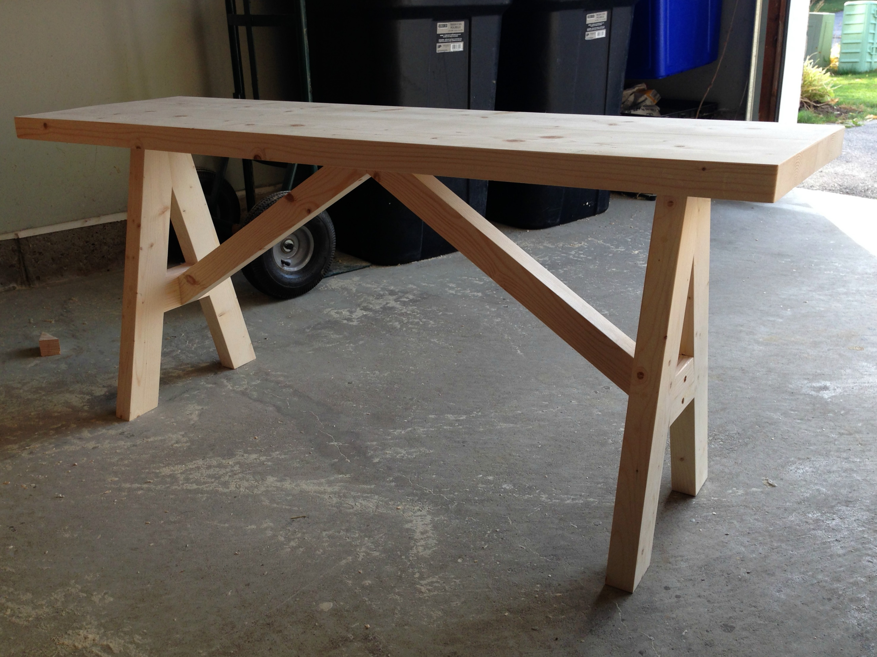 Build your own entryway bench