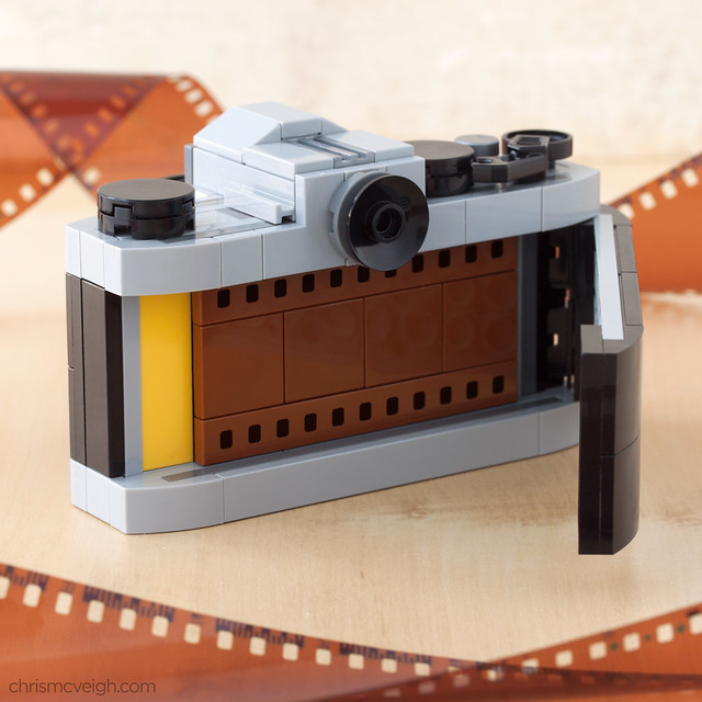 Inside the Mini Camera (SLR)