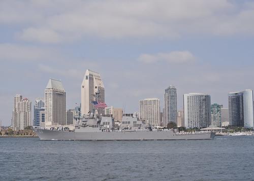 USS Milius Provides Theater Security in 7th Fleet