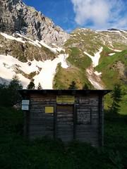 Tscharr Hütte Zustieg Großer Kinigat