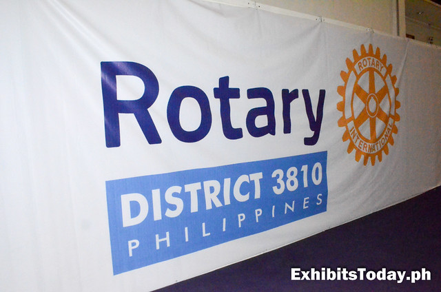 Rotary District 3810 Philippines banner