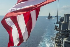 JMSDF and US Navy in the West Sea
