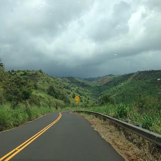 Road to Waimea Canyon