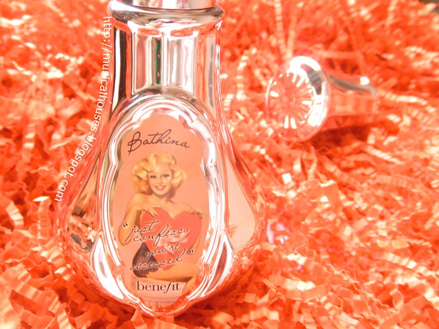 Benefit Bathina Scented Body Mist Close