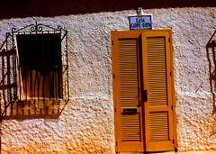 Tabarca Yellow Door #Spain #dailyshoot #iphone #leshainesimages