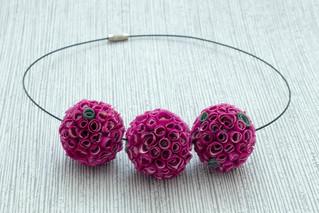 Flowerballs magenta