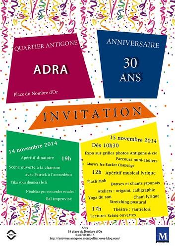 Adra affiche 30 ans