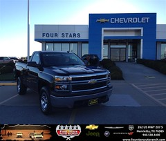 #HappyAnniversary to Billy and Martha Mcdonald on your 2014 #Chevrolet #Silverado 1500 from Everyone at Four Stars Auto Ranch!