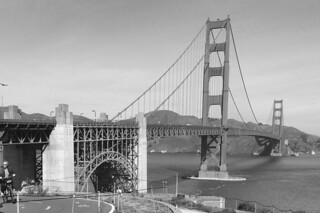 Golden Gate Bridge - Another view from the Pavillon