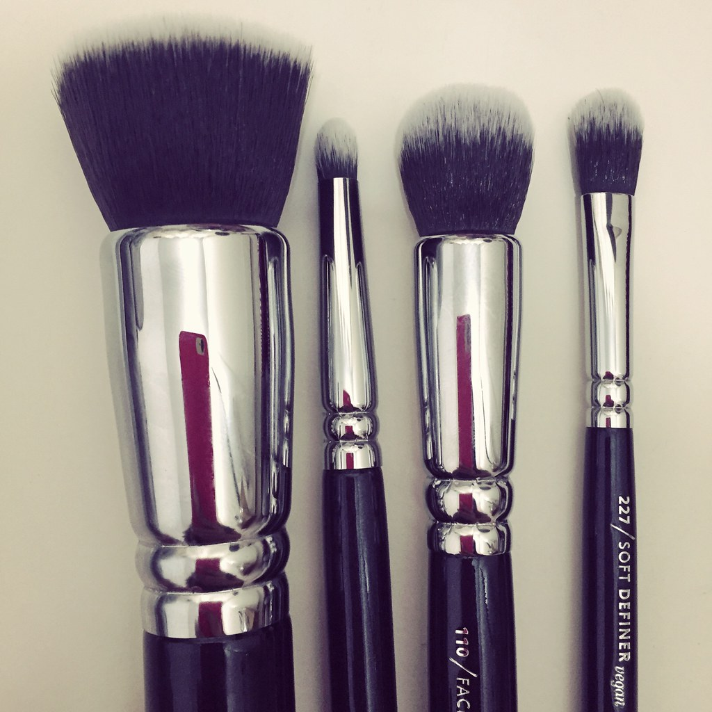all things pretty zoeva brushes vegan prime set