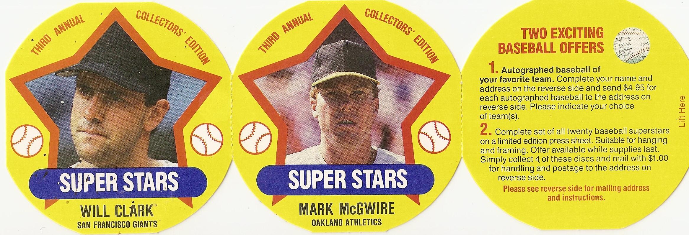 1989 MSA Superstars Tea Panel