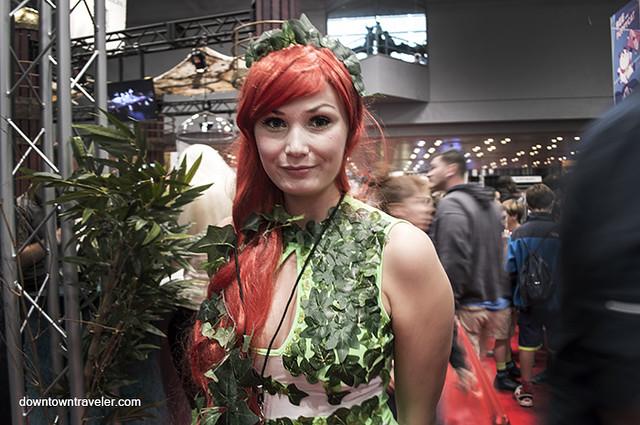 NY Comic Con 2014 Poison Ivy 2