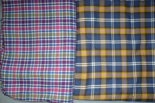 tartan fabrics for my green+white pattern ...
