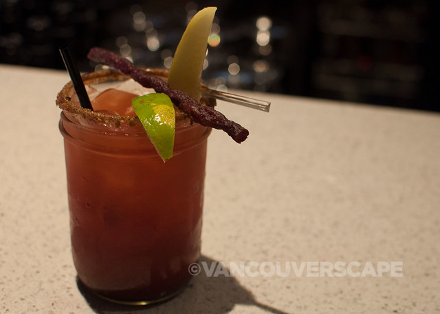 Earl's Signature Caesar: Smirnoff vodka, clamato, signature spices