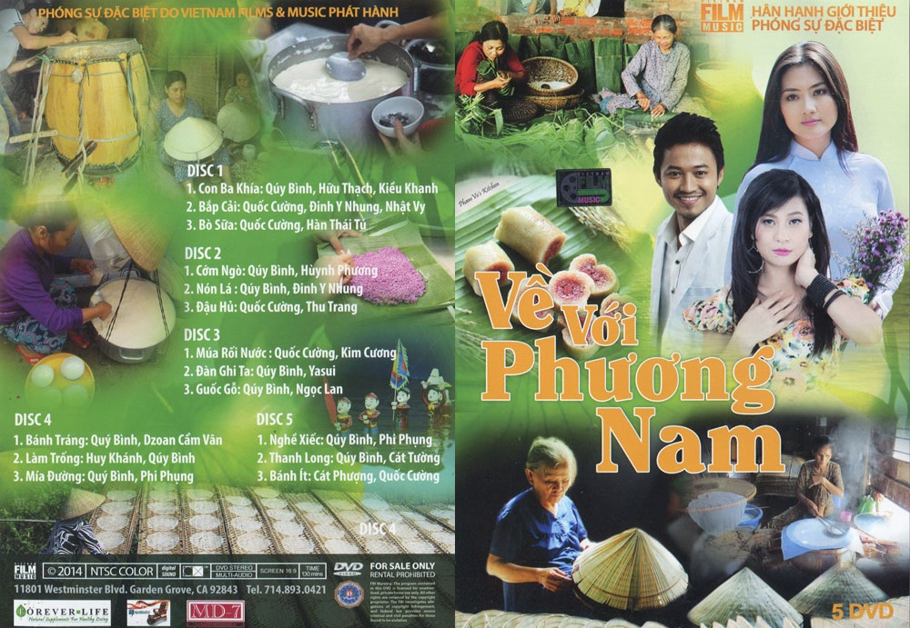 Phóng Sự - Về Với Phương Nam - 3 DVD5/ISO