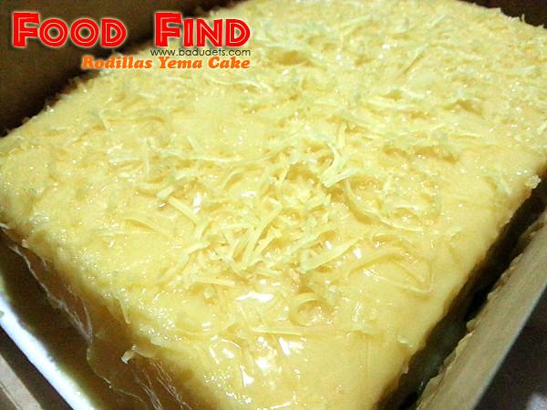 Rodillas Yema Cake