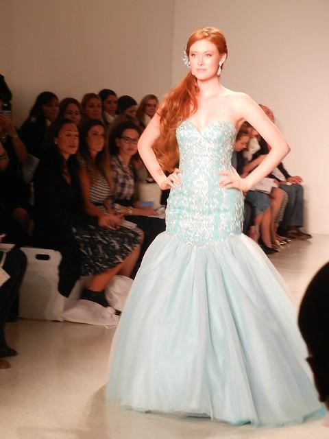 Frozen wedding dress reveal from Alfred Angelo