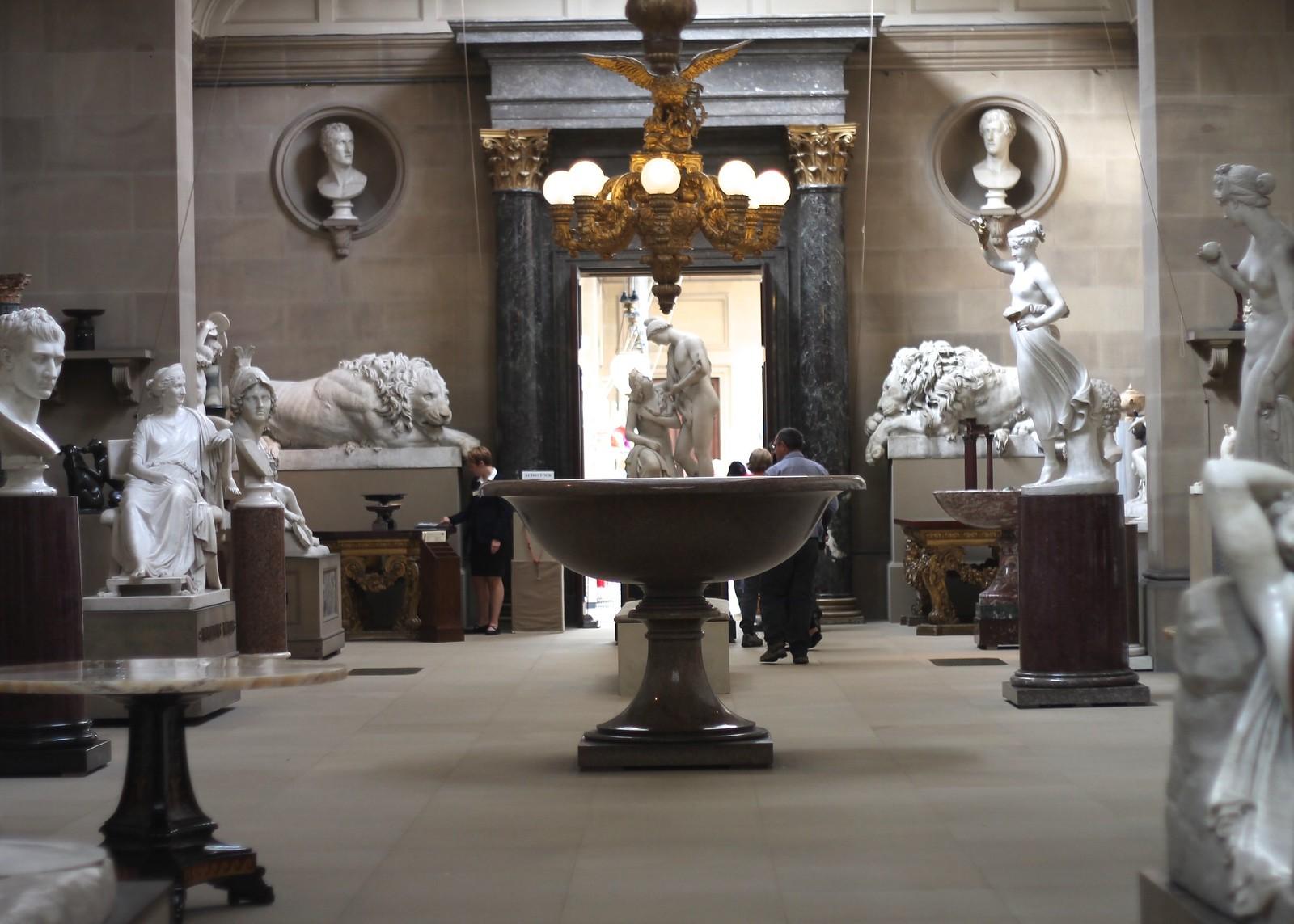 Chatsworth statue gallery