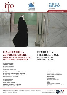Les identités au Proche-Orient : appartenances, revendications et expériences au quotidien