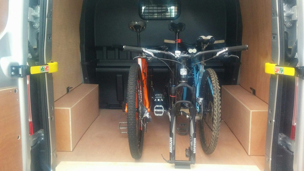Internal Bike Rack For A New Van Singletrack Magazine