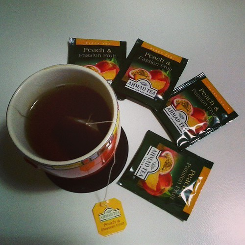 Black Tea with Peach & Passion Fruit