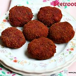 Beetroot cutlet