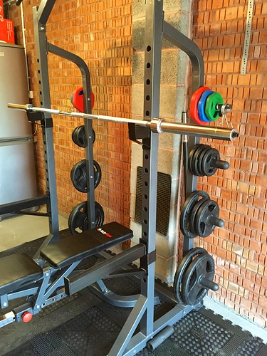 Completed squat rack!