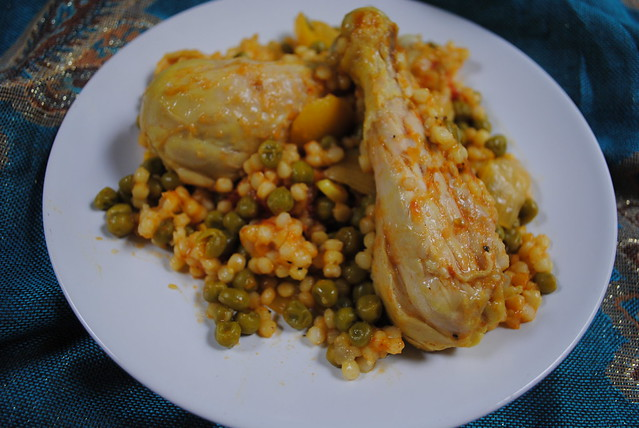 Lemon Chicken and Israeli Couscous