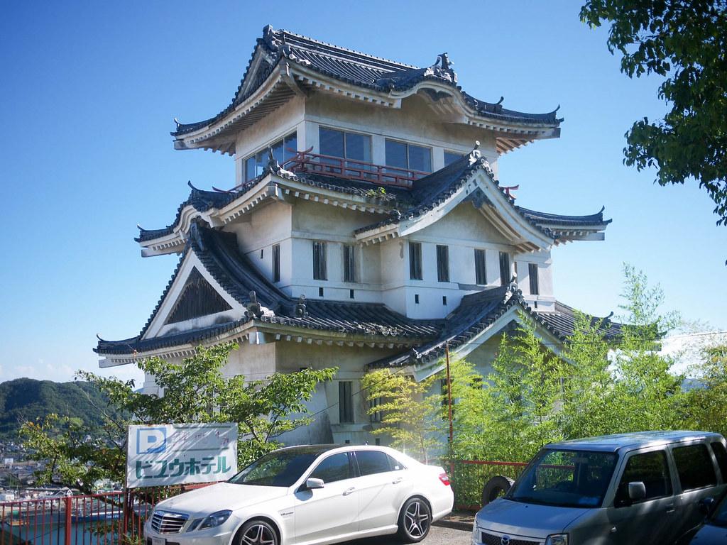 無駄に残る尾道城