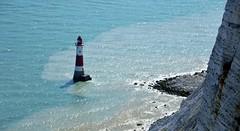 Beachy Head Lighthouse. East Sussex.