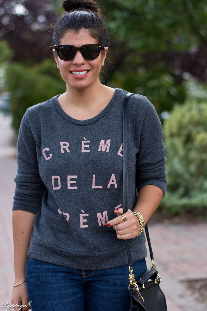 creme de la creme sweatshirt, distressed denim-2.jpg
