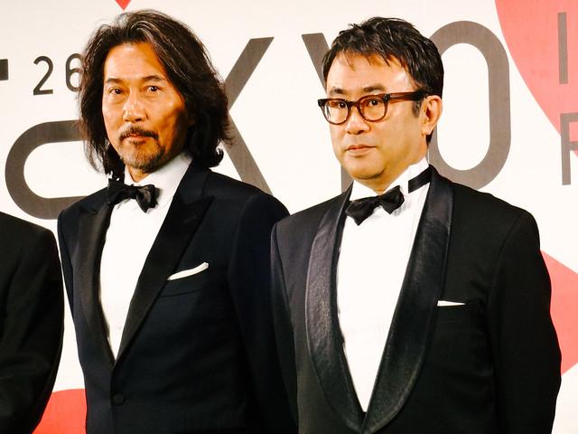 26th Tokyo International Film Festival: Mitani Koki & Yakusho Koji from The Kiyosu Conference