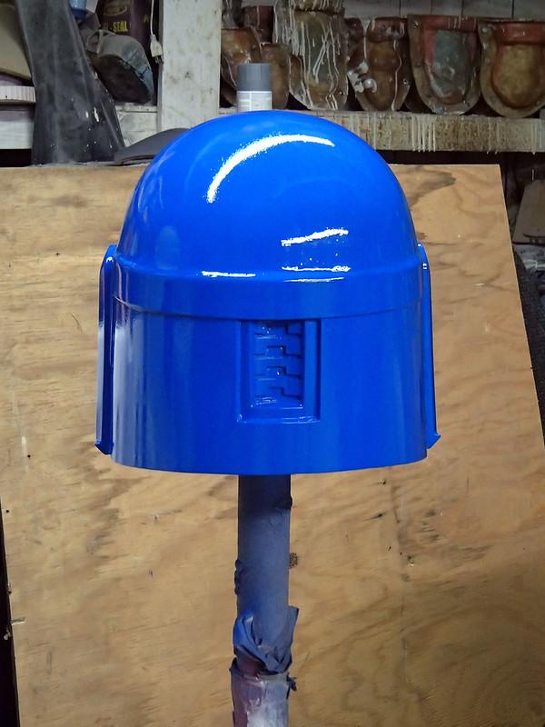 Nite Owl Helmet Prototype Back
