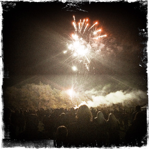 Guy Fawkes night, Chepstow