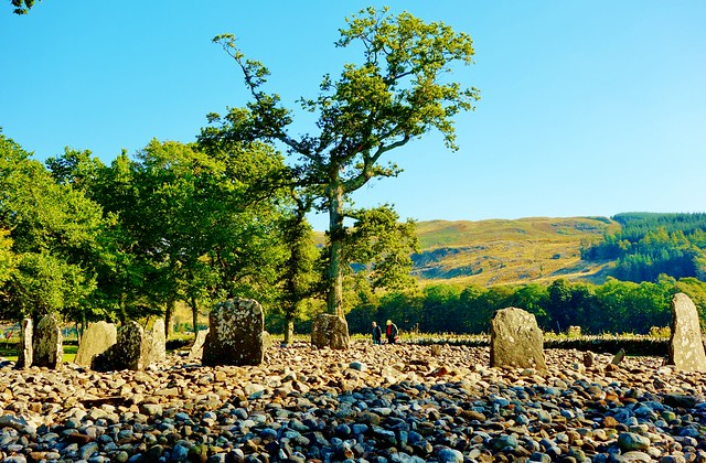 Temple Wood Stone Circle, Kilmartin Glen, Scotland
