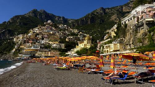 Playa de Positano. Positano. Italy.
