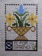 Prairie Schooler-S is for Spring freebie