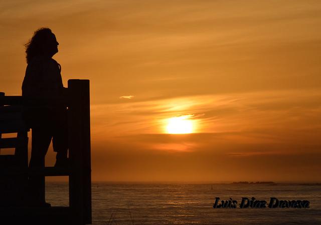 Atardecer en La Lanzada :: fotografía @LuisDiazDevesa